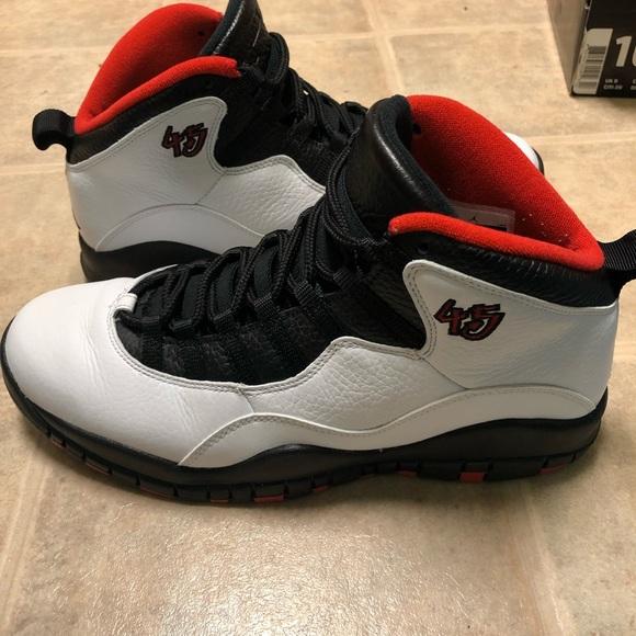best website adc36 31577 Jordan retro 10 Chicago 45(double nickel)